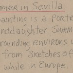 Summer In Sevilla Artist Notes