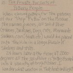 The Private Pursuits Of Pottery People Artist Notes